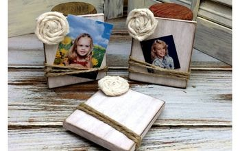 Mini Diy Photo Magnets - Display a Favorite Photo