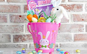 easter bunny magic eggs and diy gift basket