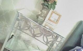diy mirrored furniture