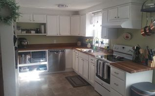 our under 700 diy kitchen makeover, Our finished project