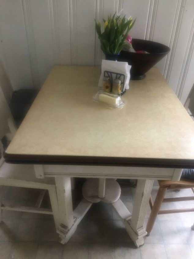 Can you refinish an enameled tabletop? | Hometalk