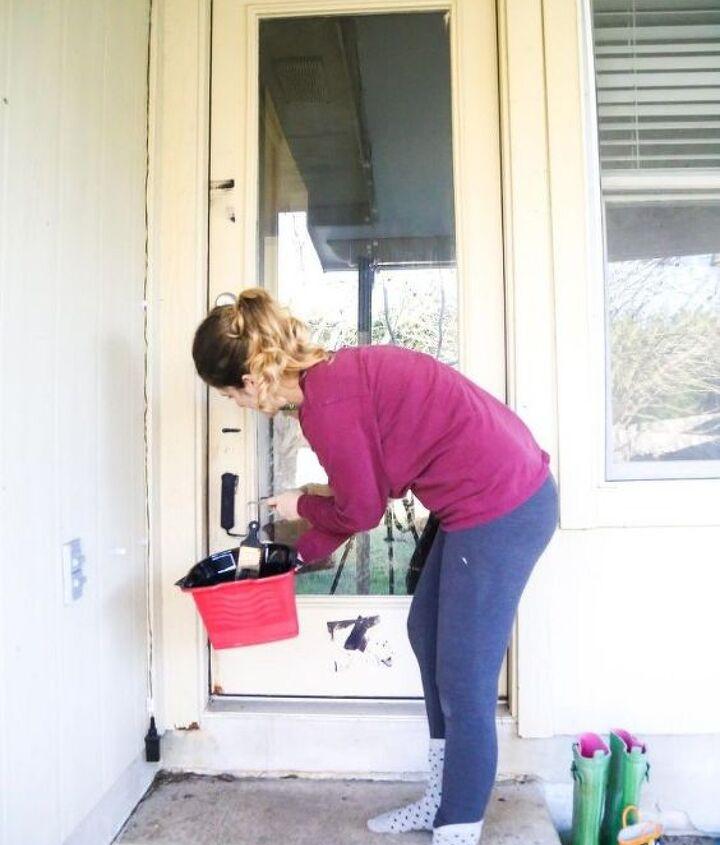 diy back door refresh