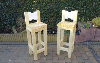 summer is coming make your garden bar stool