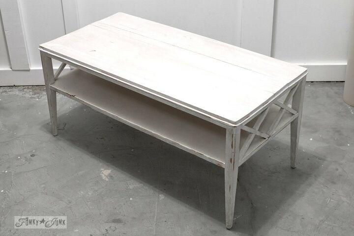 how a lonely coffee table became a very happy and productive desk