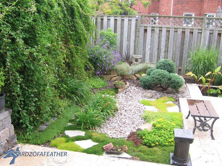 install a water garden in your small yard