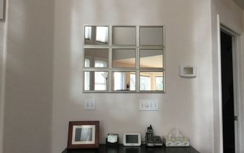Pottery Barn Mirror Hack