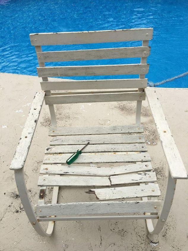1970 s metal chair update