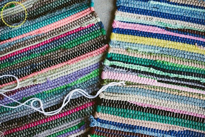 DIY Boho Floor Pillow Using Dollar Store Rugs   Hometalk