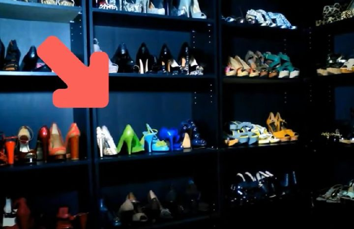from bookshelf to shoe shelf dirt cheap