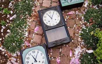 three junk clocks fixed and flipped