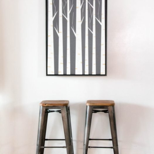 how to make a folding wall art table with kyle schuneman
