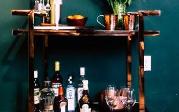 3 ways to style a bar cart with kyle schuneman