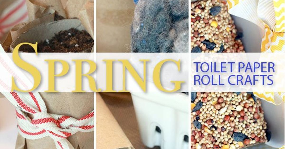 Spring Toilet Paper Roll Craft Ideas Hometalk