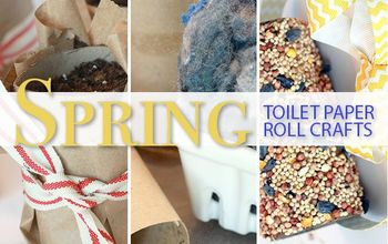 spring toilet paper roll craft ideas