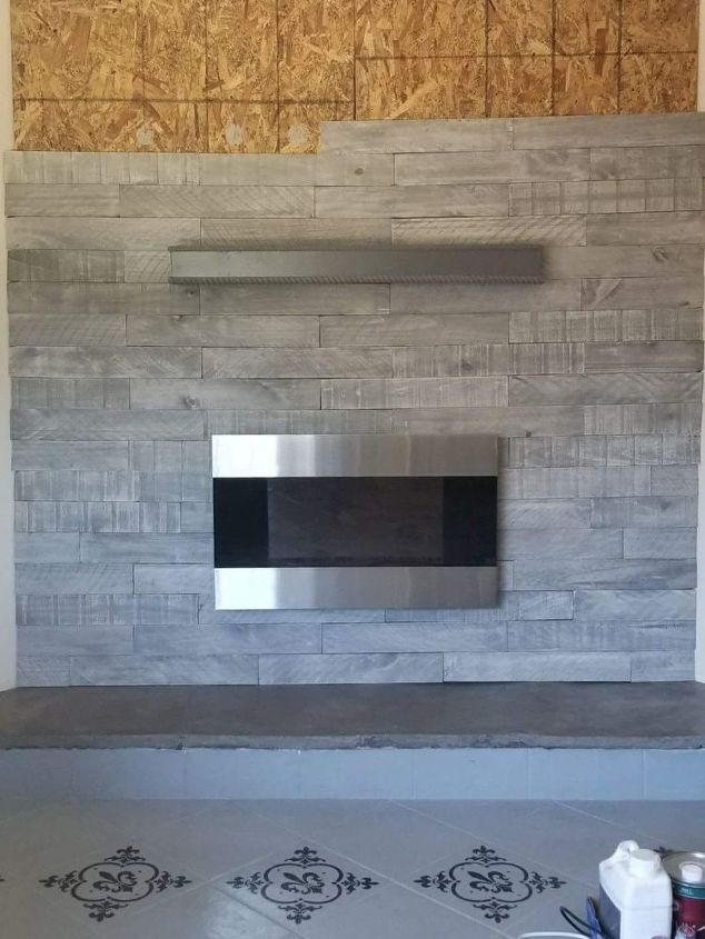 amityville horror fireplace remodel