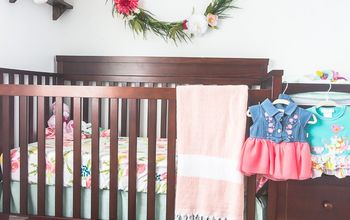 Painted Dresser for DIY Baby Nursery