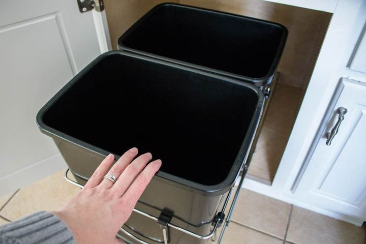 s the top 15 home improvement diy ideas this month, Pull Out Trash Can
