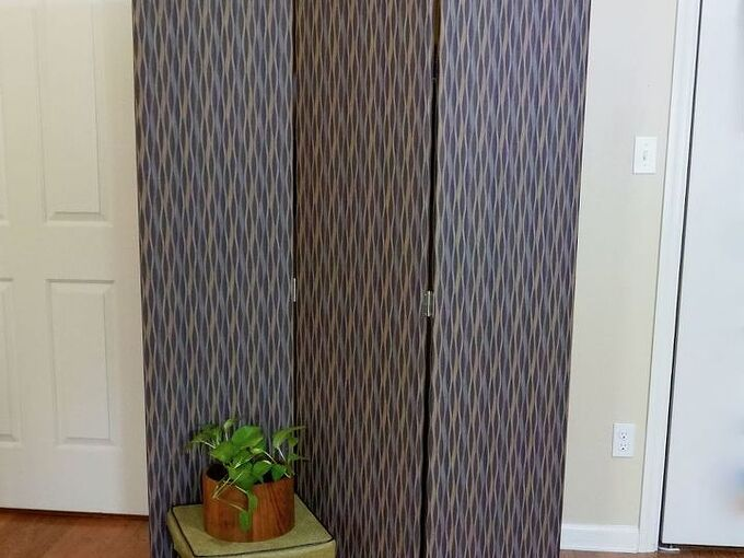 how to make a diy folding screen