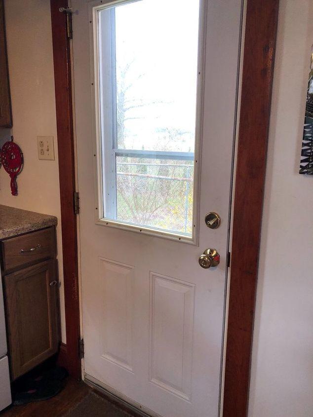 q ideas for making door look nicer