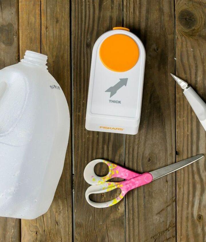 milk jug plant labels