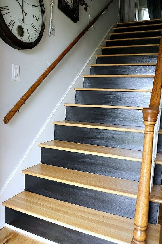 update your entryway with this easy staircase makeover