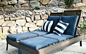 Knockoff Decor- Pottery Barn Patio Chaise
