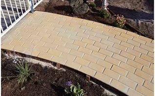 is there a spot in your garden you d love to pave do it yourself