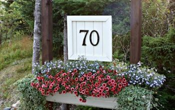 s 11 charming ways to add your number sign to your garden