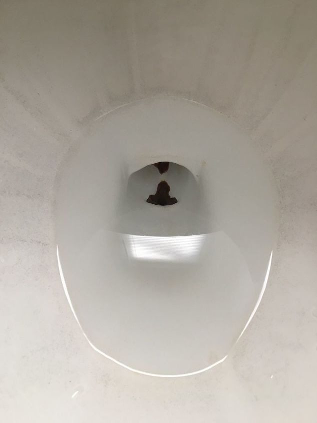 q is there some way to make my toilet bowl look cleaner
