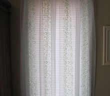 get summery curtains on a next to nothing budget
