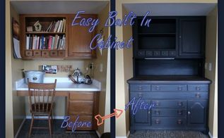 easy built in cabinet