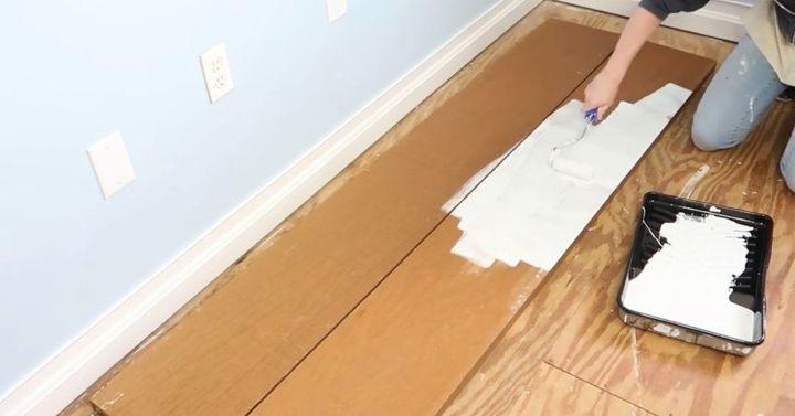 adding moulding to closet doors