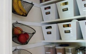 Beautifully Organized Small Pantry on a Budget