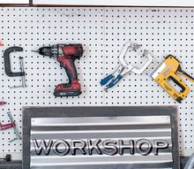 a metal sign for my workshop