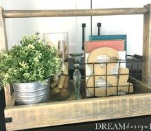 how to build a farmhouse wood tray