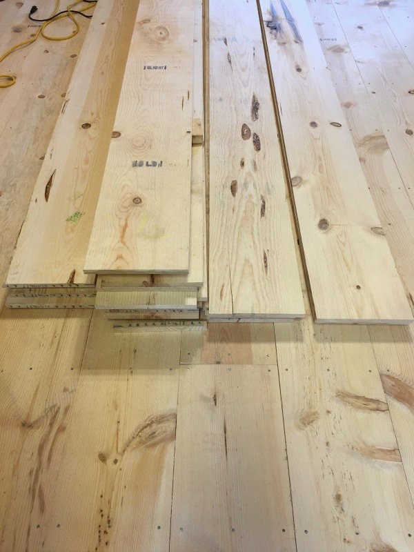 12 Wide Plank Pine Floor Hometalk