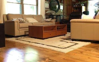"""12"""" Wide Plank Pine Floor"""