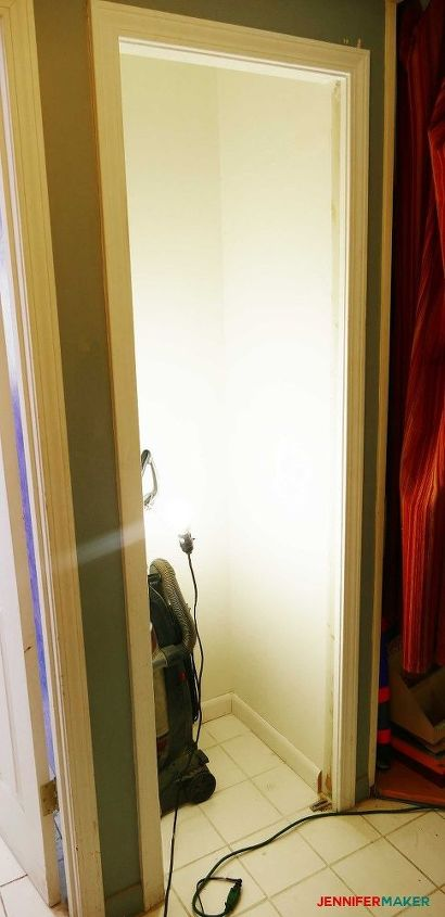cleaning closet makeover