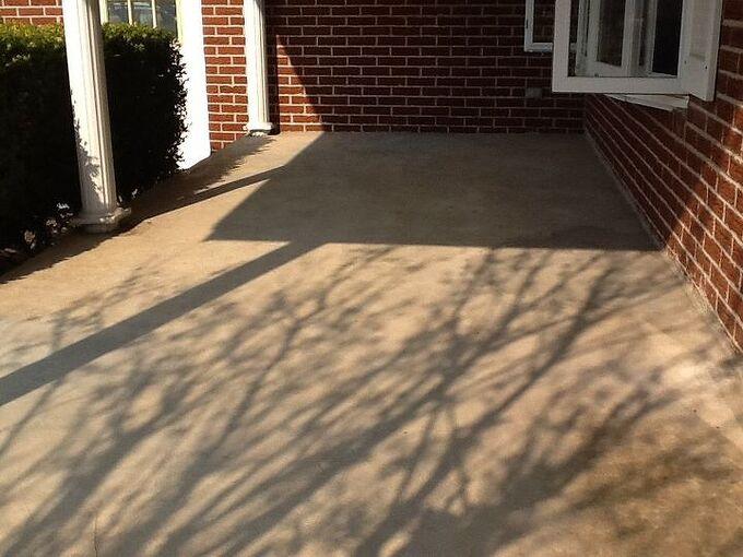 q how do i fix my cement porch