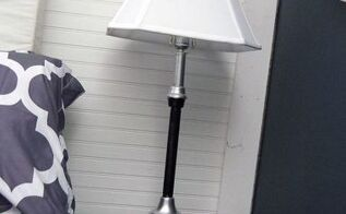 two thrift store lamps a glamorous makeover creating cohesion