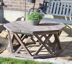 Diy Octagon Patio Or Coffee Table