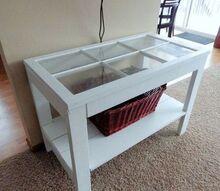 the perfect farmhouse console table