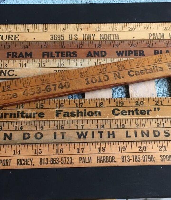 Vintage Yardsticks