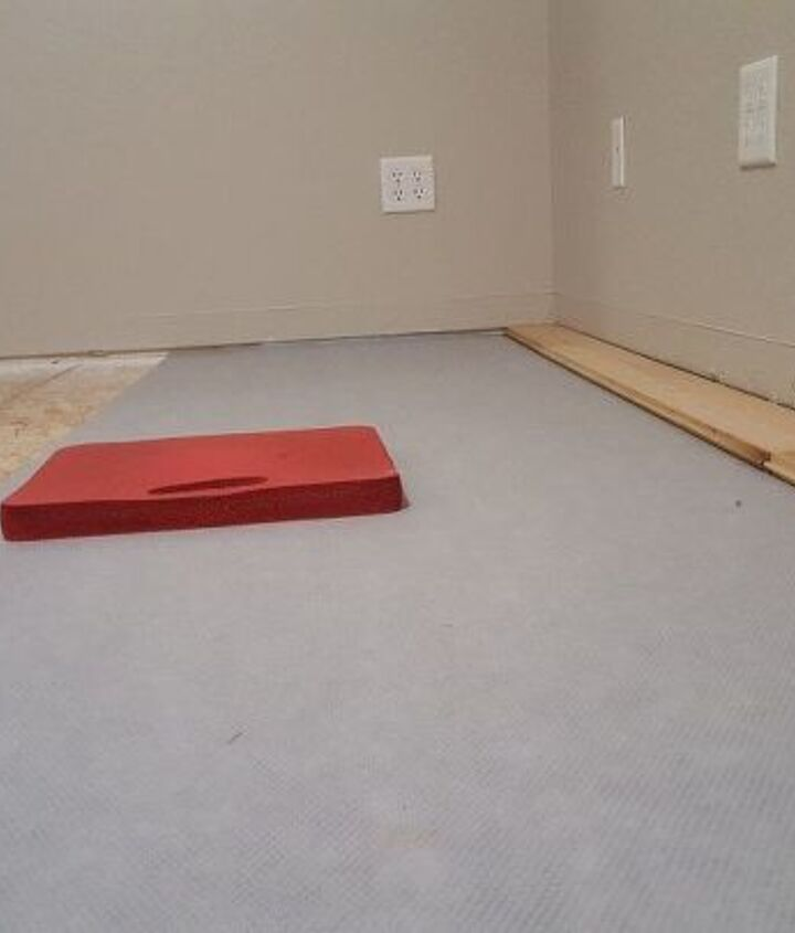 den flooring makeover going from carpet to wood