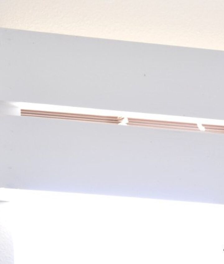 a quick wood valence that is easy to install
