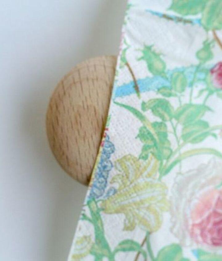 make your own designer wooden drawer knobs