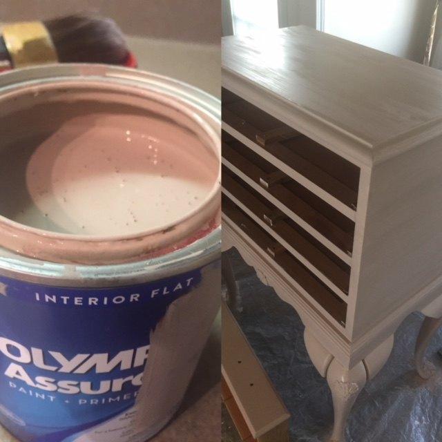 Pretty base coat Blush paint.