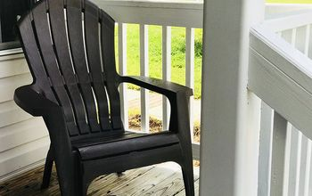 simple lawn chair makeover
