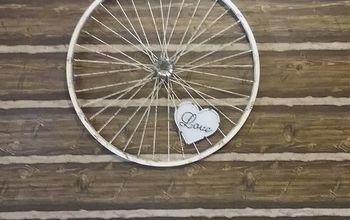 Bicycle Wheel Rim Art