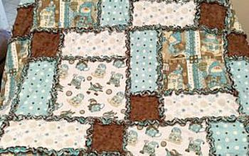 simple diy rag quilt a sewing project for beginners